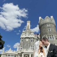 Wedding photos at Casa Loma