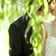 Wedding photos of bride and groom in Toronto
