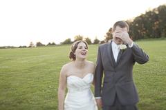 Wedding photographs in Niagara On