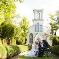 Wedding images at Cranberry Creek Gardens