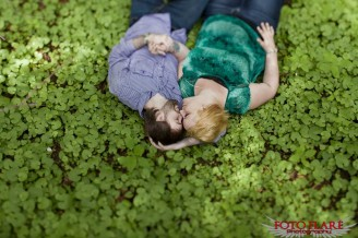 Cuddling in clovers