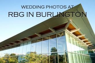 wedding photos at the RBG