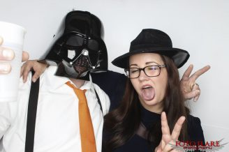 darth vader in our photo booth