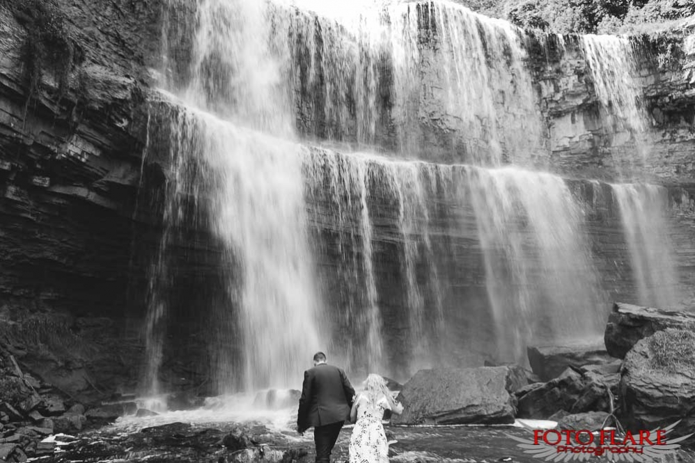 Websters falls engagement pictures