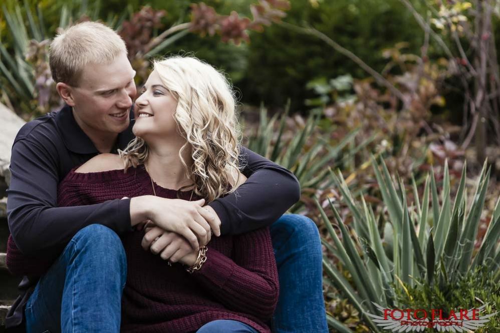 Couple photos at Battlefield Park